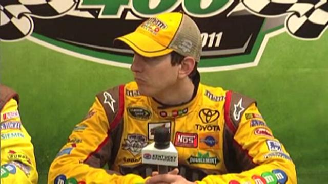 NASCAR: Kyle Busch wins Kentucky Sprint Cup race