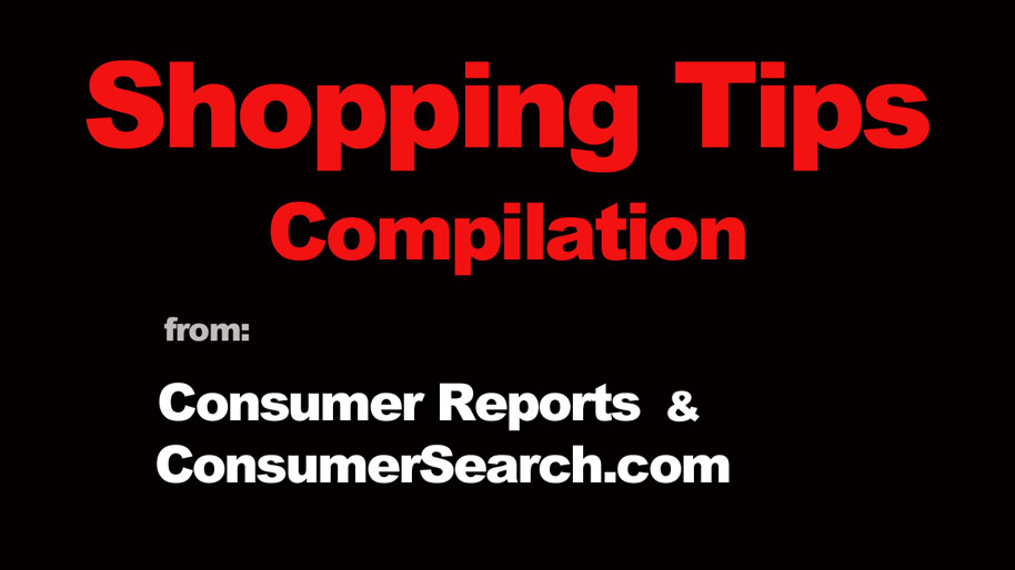 Confident Consumer: Shopping tips