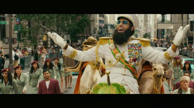 Trailer: 'The Dictator'