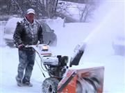 iPhone's new slow motion feature is a hit on snow days!
