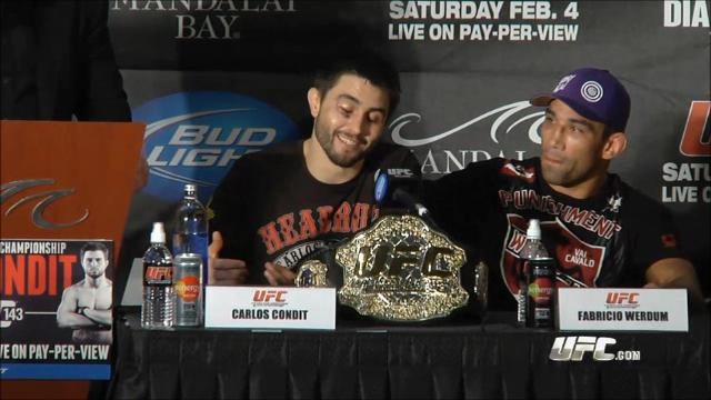 UFC 143 post-fight - Carlos Condit