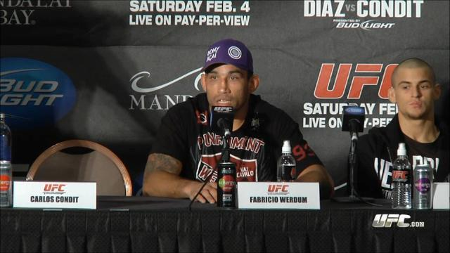 UFC 143 post-fight - Koscheck, Werdum