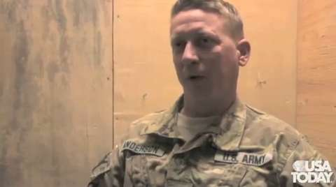 Soldiers in Afghanistan talk about the winding dow...