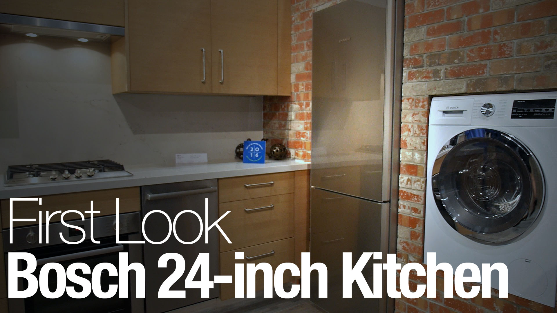 Bosch Small Kitchen Appliances Video Bosch Fits Seven Appliances Into One Tiny Kitchen