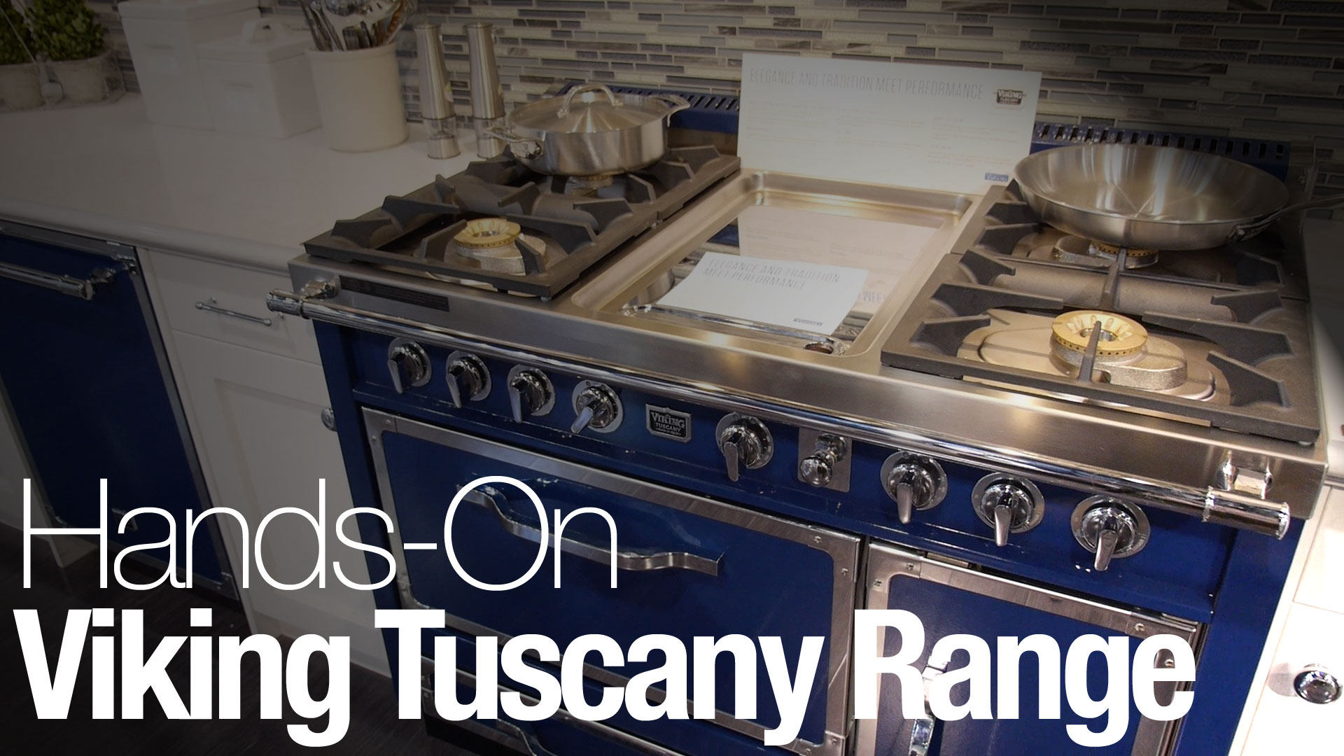 Video Hands On With The Viking Tuscany Range Reviewed Com Ovens