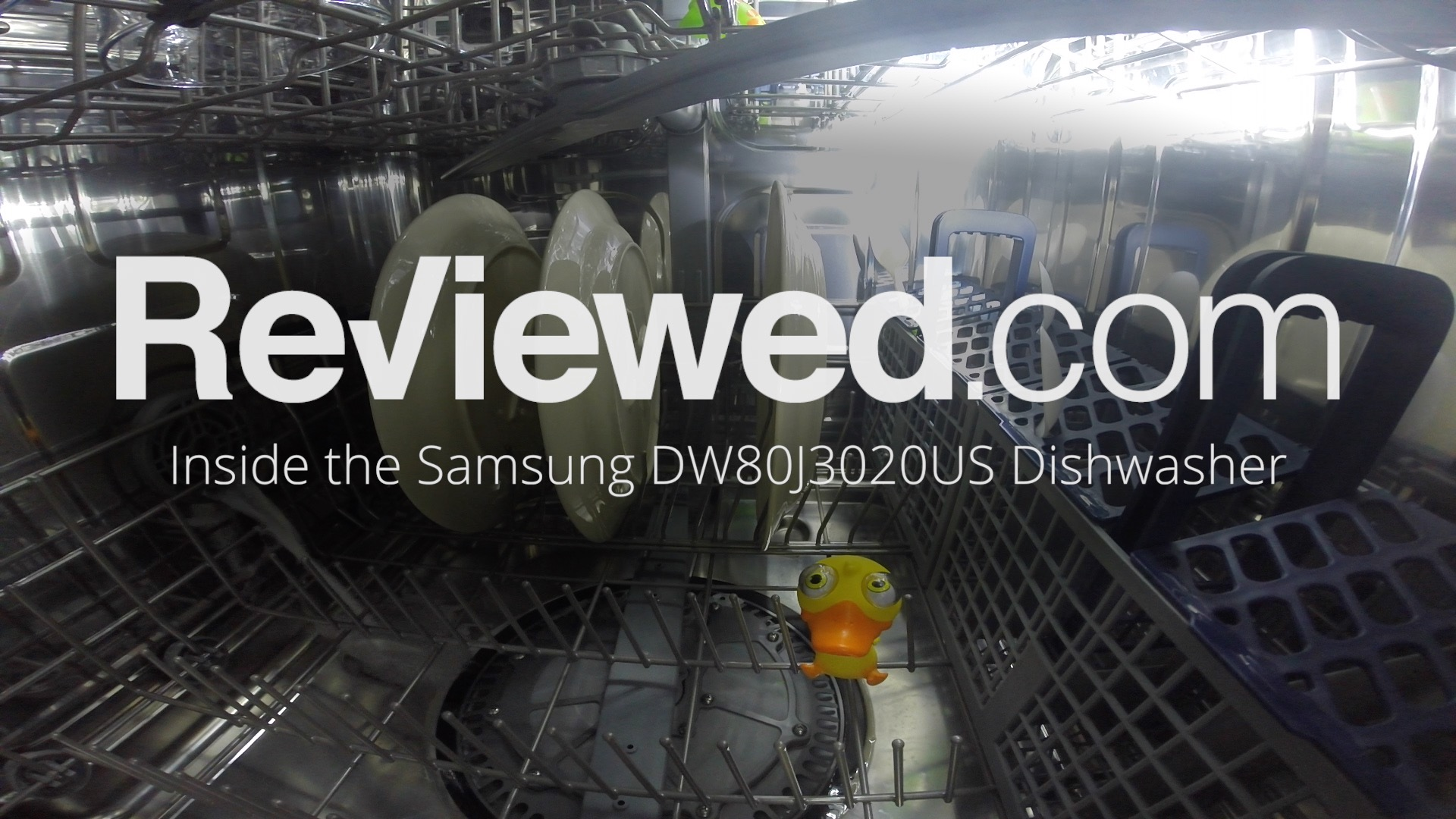 Take a ride INSIDE a Samsung dishwasher
