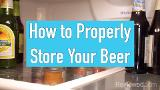 How to store beer the right way
