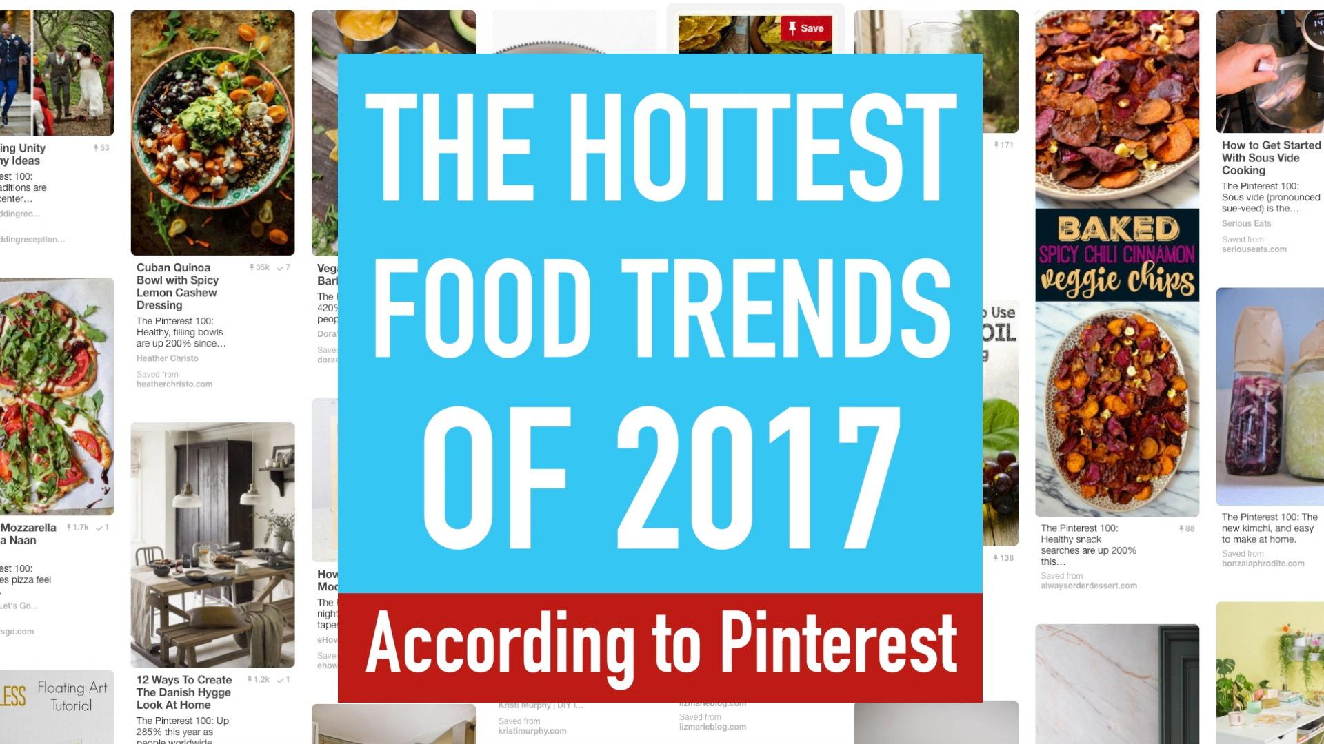 Video: The Hottest Food Trends Of 2017, According To Pinterest   Reviewed Ovens