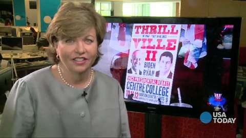 Susan Page on 2012 Vice Presidential debate