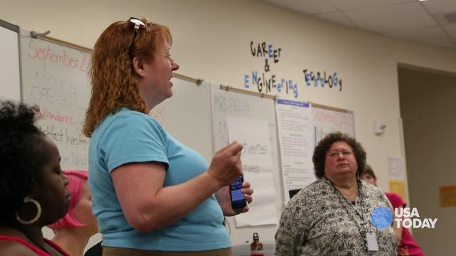 Teaching for the Future: Girls learn how to program