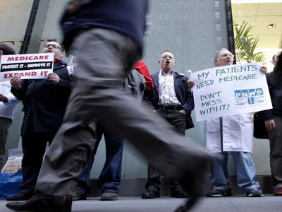 Doctors to candidates: Don't mess with Medicare