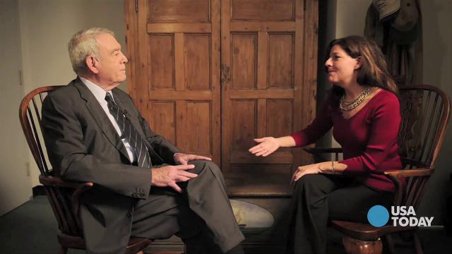 Dan Rather interviewed in his NYC office.