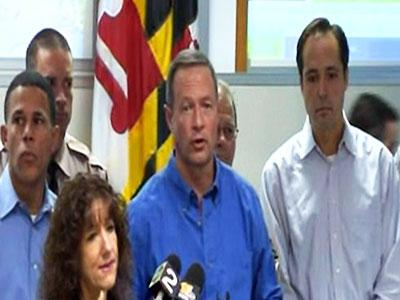 Maryland Governor: Stay inside for 24-36 hours