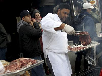 First Person: Sandy forces NYC steak sale