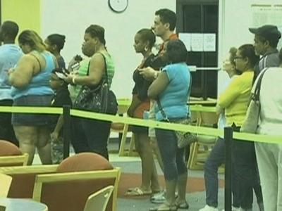 Early voters overwhelm Miami elections office