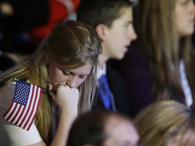 Romney Supporters: Shock and disappointment