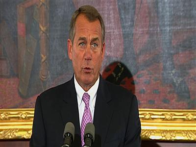 Boehner: 'Mr. President, this is your moment'