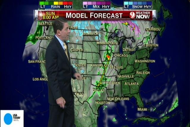 Video: National weekend weather forecast