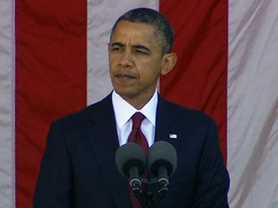 Obama: This day belongs to veterans