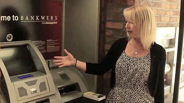 Video ATMs and new tech-oriented bank branches