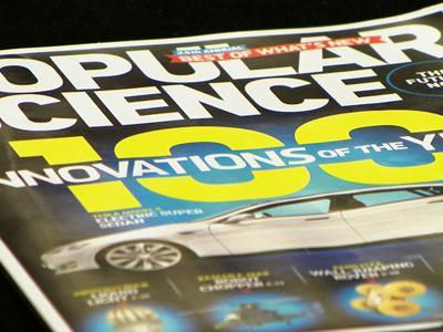 Popular Science names top innovations for 2012