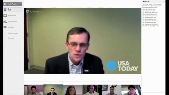 Veterans Day Google+Hangout: Issues for those who serve