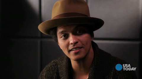 Five questions for Bruno Mars
