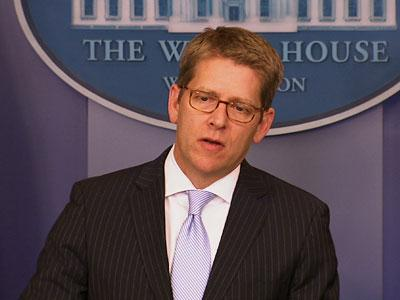 Carney on Obama-Romney lunch, fiscal cliff