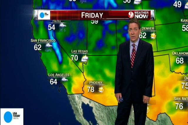 National weather forecast for Friday Nov. 30