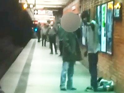 NYPD video shows argument ahead of subway death