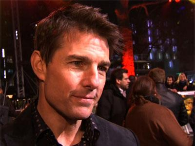 Tom Cruise attends London premiere of new film