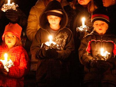 """Newtown residents ask, """"Why did this happen?"""""""