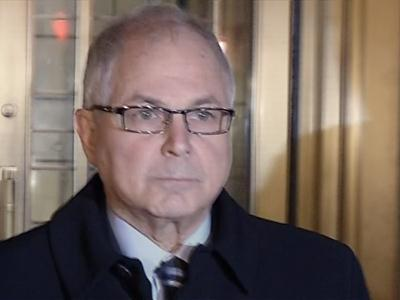 Raw: Madoff brother exits court after sentencing