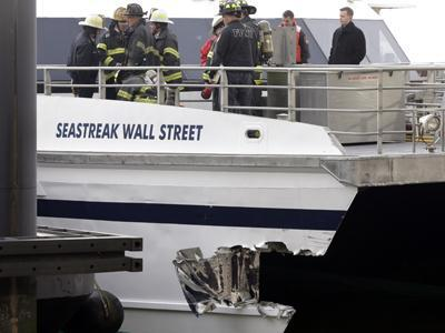 Witness: NYC ferry captain screamed 'call 911'