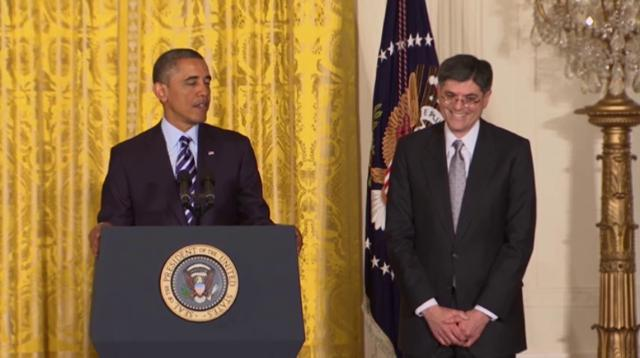 Obama nominates Lew to lead Treasury