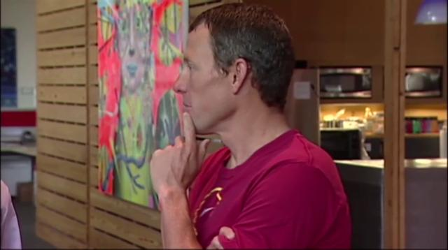 """After more than a decade of denying that he doped to win the Tour de France seven times, Lance Armstrong was set to sit down Monday for what has been trumpeted as a """"no-holds barred,"""" 90-minute, question-and-answer session with Winfrey. (Jan. 14)"""