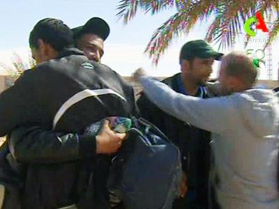 Desert siege: 100 of 132 foreign hostages freed