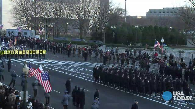 Time-lapse: See the Inaugural Parade in under 2 minutes