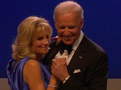Watch: Bidens dance to 'I Can't Stop Loving You'