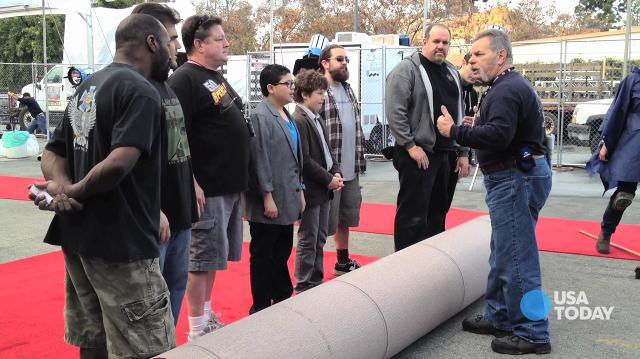 SAG Awards red carpet roll out