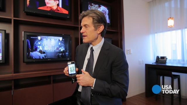 """Mehmet Oz, TV's """"Dr. Oz"""" talks apps, tech in the operating room and"""