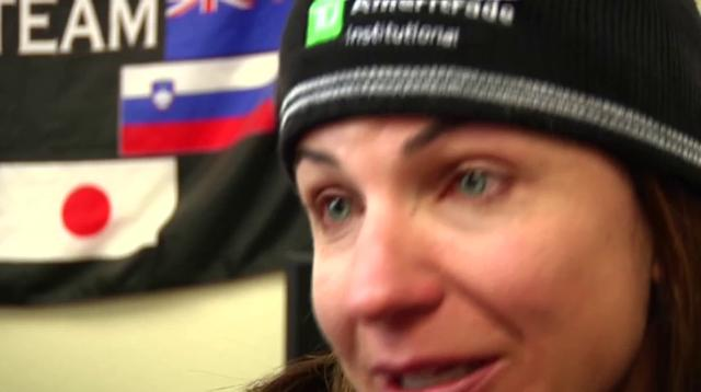First Person: Blind skier's quest for gold