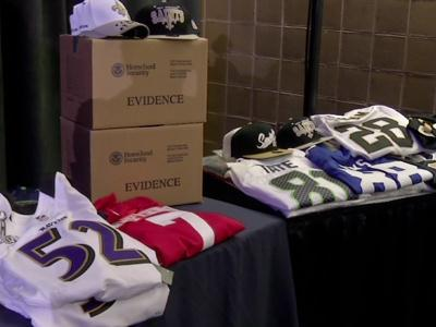Searching for Super Bowl, NFL counterfeits