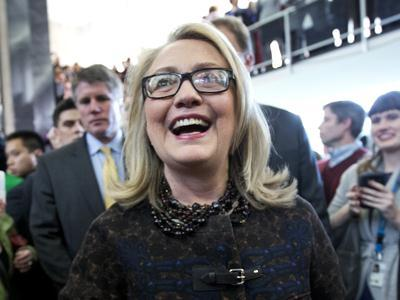 Clinton to State Dept: 'Make our country proud'