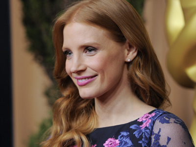 Jessica Chastain plans to relax on Oscar day
