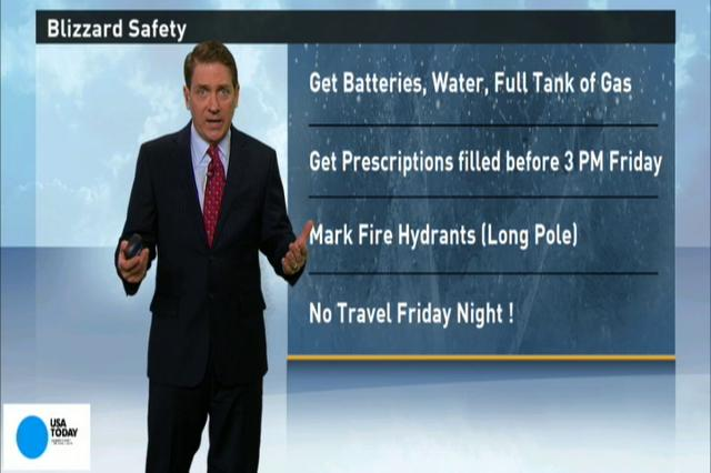 Video: Tips to stay safe before the blizzard hits!
