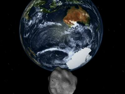 Asteroid to fly past Earth Friday