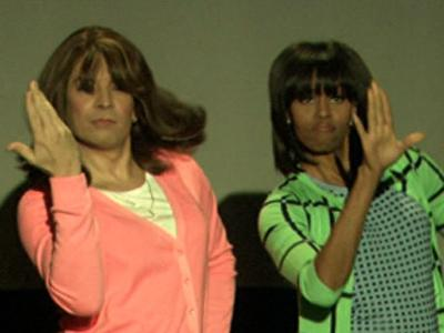 First lady dances up a storm on 'Fallon'
