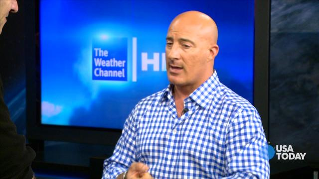 Jim Cantore shows his Weather Central | Talking Your Tech