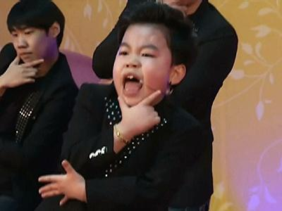 Raw video: 'Little PSY' from 'Gangnam' video goes solo